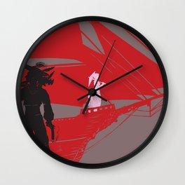a piratical diversion Wall Clock