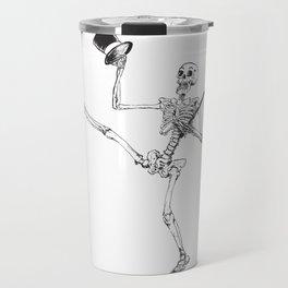 Depression Skeleton: Showtime Travel Mug