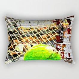 Tennis Art Rectangular Pillow