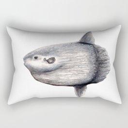 Ocean Sunfish (Mola mola) Rectangular Pillow