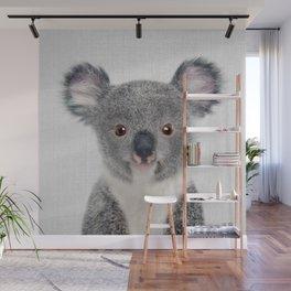 Baby Koala - Colorful Wall Mural