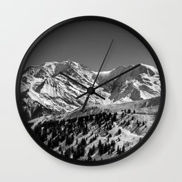 Mt. Blanc Wall Clock