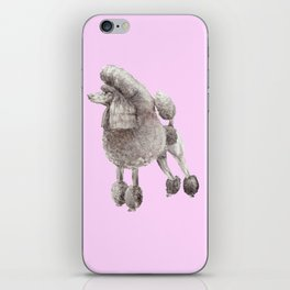 Pretty Poodle iPhone Skin
