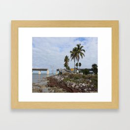 Pigeon Key Island Framed Art Print