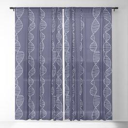 Seamless DNA Sheer Curtain