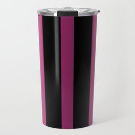 Purple Bar Gradient - Abstract Art Piece Travel Mug