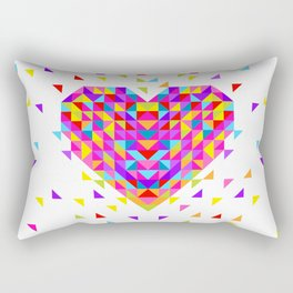 Big Heart Rectangular Pillow