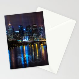 Philly Skyline Glowing Stationery Cards