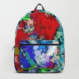Shouting flares Backpack