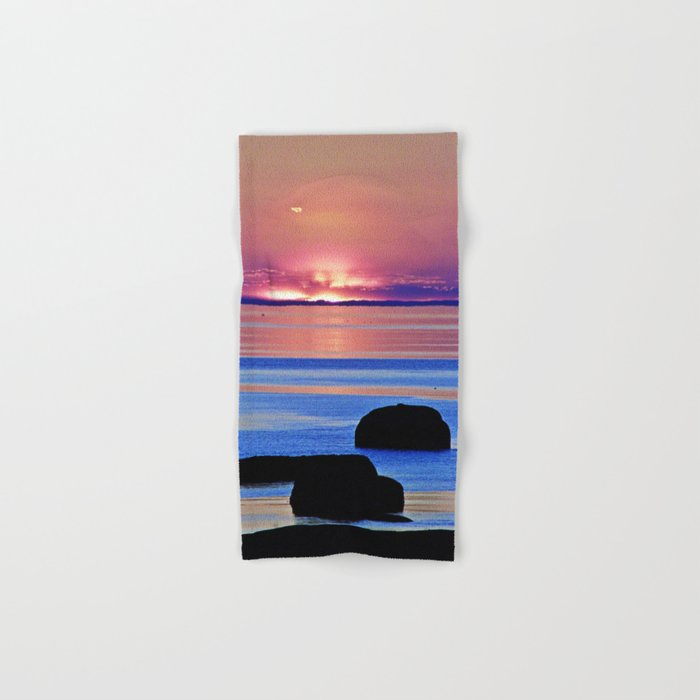 Colorful Dusk Hand & Bath Towel