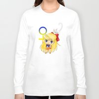 sailor venus Long Sleeve T-shirts featuring Sailor Venus by artwaste