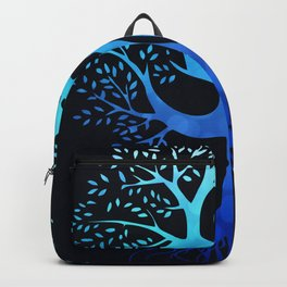 Tree Of Life with Om Symbol Backpack