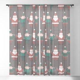 Toy Factory (Patterns Please) Sheer Curtain