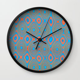 Color patches Wall Clock