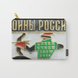Russian Soldiers: Russian Lapel Pin Carry-All Pouch