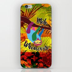 Whenever Sloth iPhone & iPod Skin