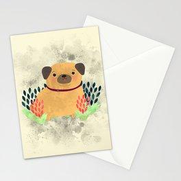 Pug the Pug Stationery Cards