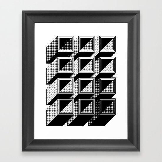 Extrube Framed Art Print