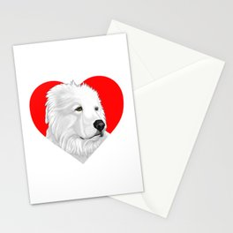 Great Pyrenees Stationery Cards