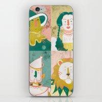 oz iPhone & iPod Skins featuring Oz by StinkyInky_Jess