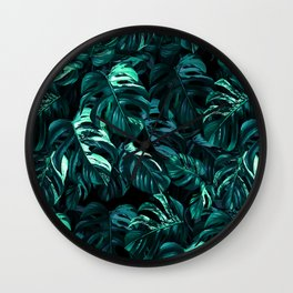 TROPICAL GARDEN XII Wall Clock