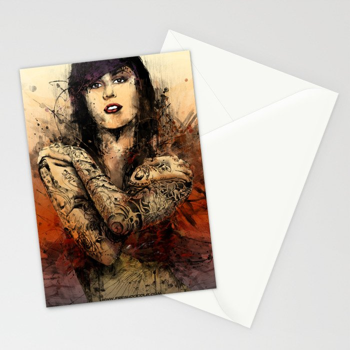 Kat Von D Stationery Cards