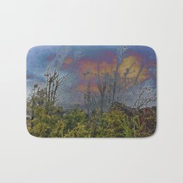 Winters Approach; Spring Stays Imbeded Bath Mat