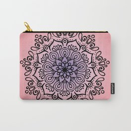 Baesic Sunset Traquil Mandala Carry-All Pouch