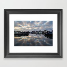 Dawn at West Stockwith Framed Art Print