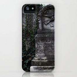 Cemetery 1 iPhone Case