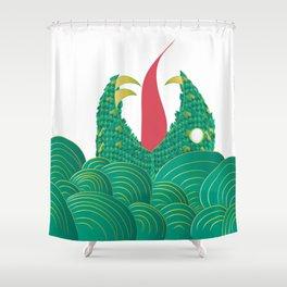Freak Fish Shower Curtain