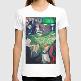 Edvard Munch - At the roulette table in Monte Carlo T-shirt