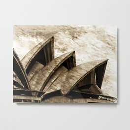 Sydney Opera House  Collection III Metal Print