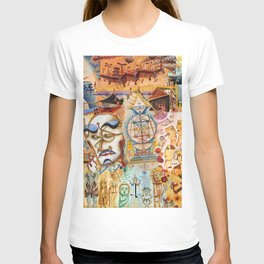 Xul Solar collage T-shirt