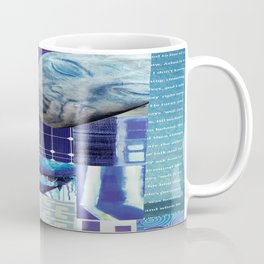 Collage - Just Blue Coffee Mug
