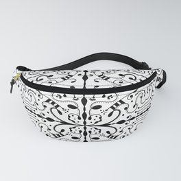 Lashes and Dots Fanny Pack