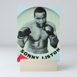 Sonny Liston Mythical Heavyweight Boxer Mini Art Print