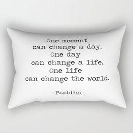 Make the moments count Rectangular Pillow