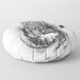 Snoozy Snorlax Floor Pillow