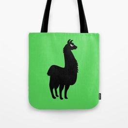 Angry Animals: llama Tote Bag