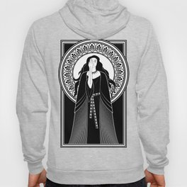 Art Nouveau priestess Hoody
