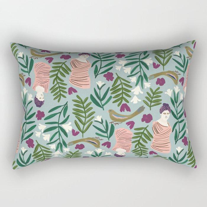 Sculpture Garden Rectangular Pillow