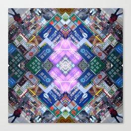 Hong Kong Kaleidoscope 03 Canvas Print