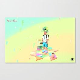 Angryocto - Joun's Math grade2 Canvas Print
