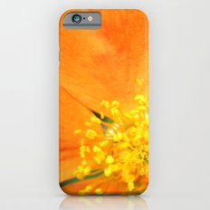 Orange Flower Photography iPhone 6s Slim Case