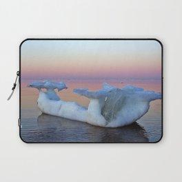 Viking Iceship on the Sea Laptop Sleeve