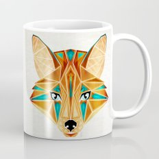 blue fox Coffee Mug