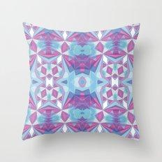 Purple mint Throw Pillow