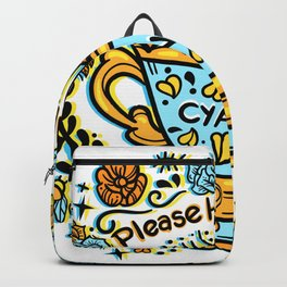 Poison of Choice: Cyanide TeaCup Backpack