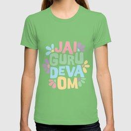 Jai Guru Deva Om (Soft) T-shirt
